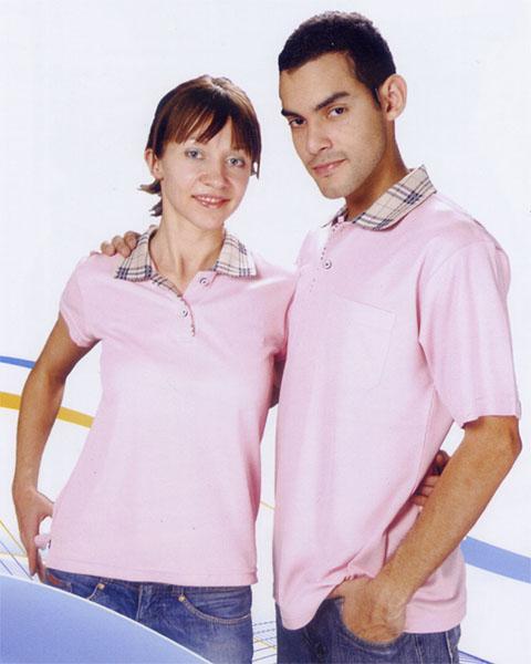 抗菌吸濕排汗短袖POLO衫-粉紅色(女版)