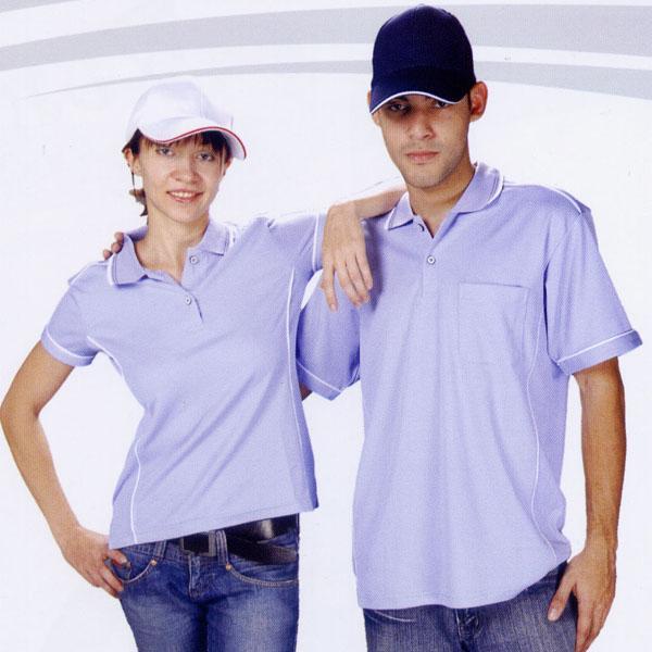 抗菌吸濕排汗短袖POLO衫-紫色(中性版)