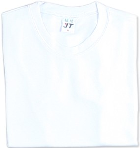 吸濕排汗素面T恤-白色