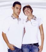 抗菌吸濕排汗短袖POLO衫-白色(中性版)