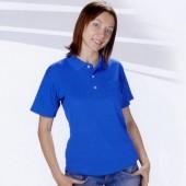 三磚排汗短袖POLO衫-寶藍色
