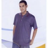 短袖排汗POLO衫-深灰色