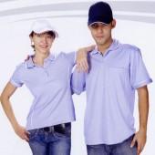 抗菌吸濕排汗短袖POLO衫-紫色(女版)