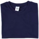 吸濕排汗素面T恤-丈青色