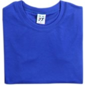 吸濕排汗素面T恤-寶藍色