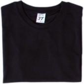 吸濕排汗素面T恤-黑色